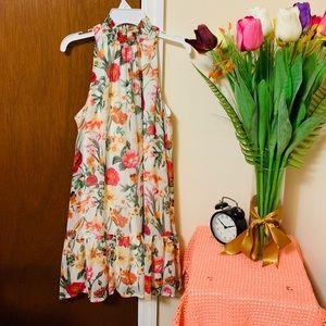 Macy's mini flowers dress 🌷🌹💐